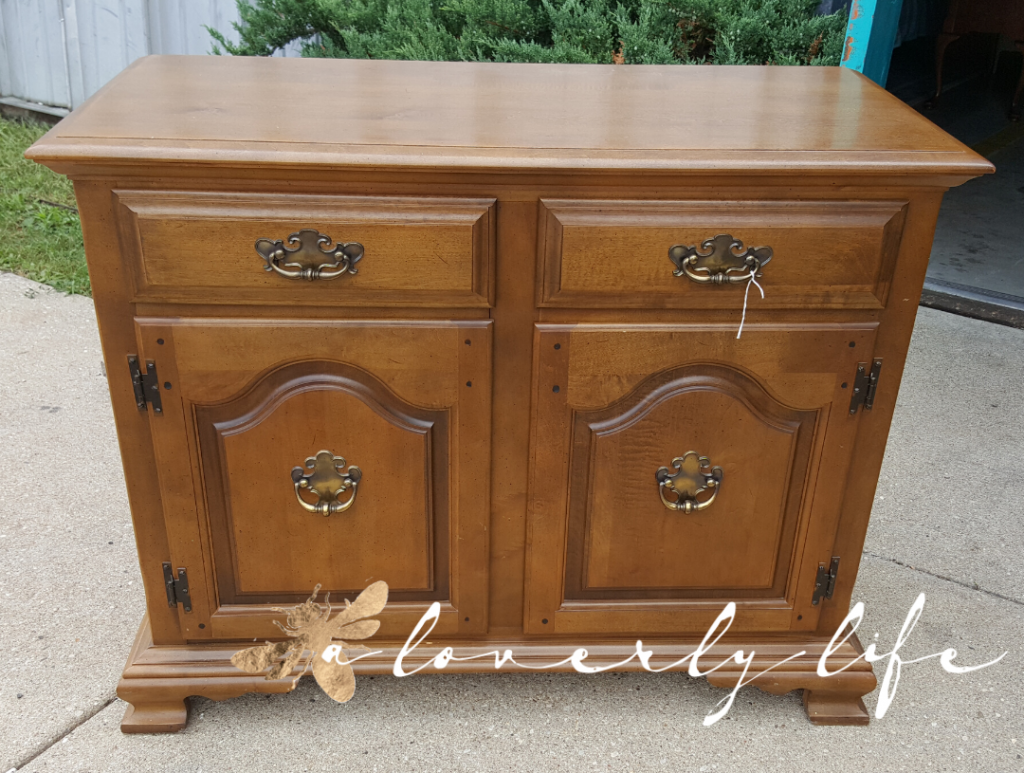 before sideboard; a loverly life; bold and beautiful transformation; buffet