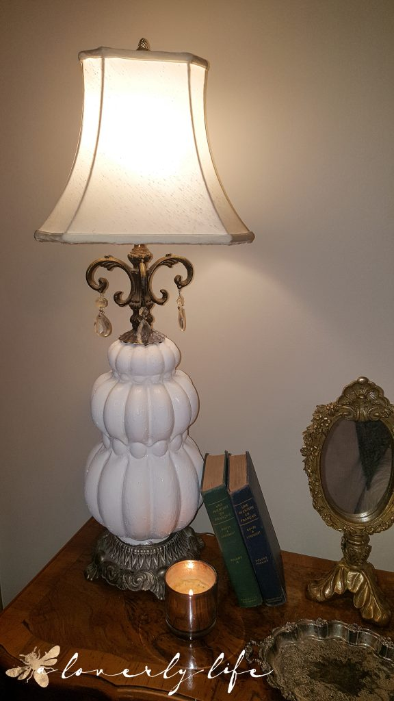 glam lamp transformation | a loverly life