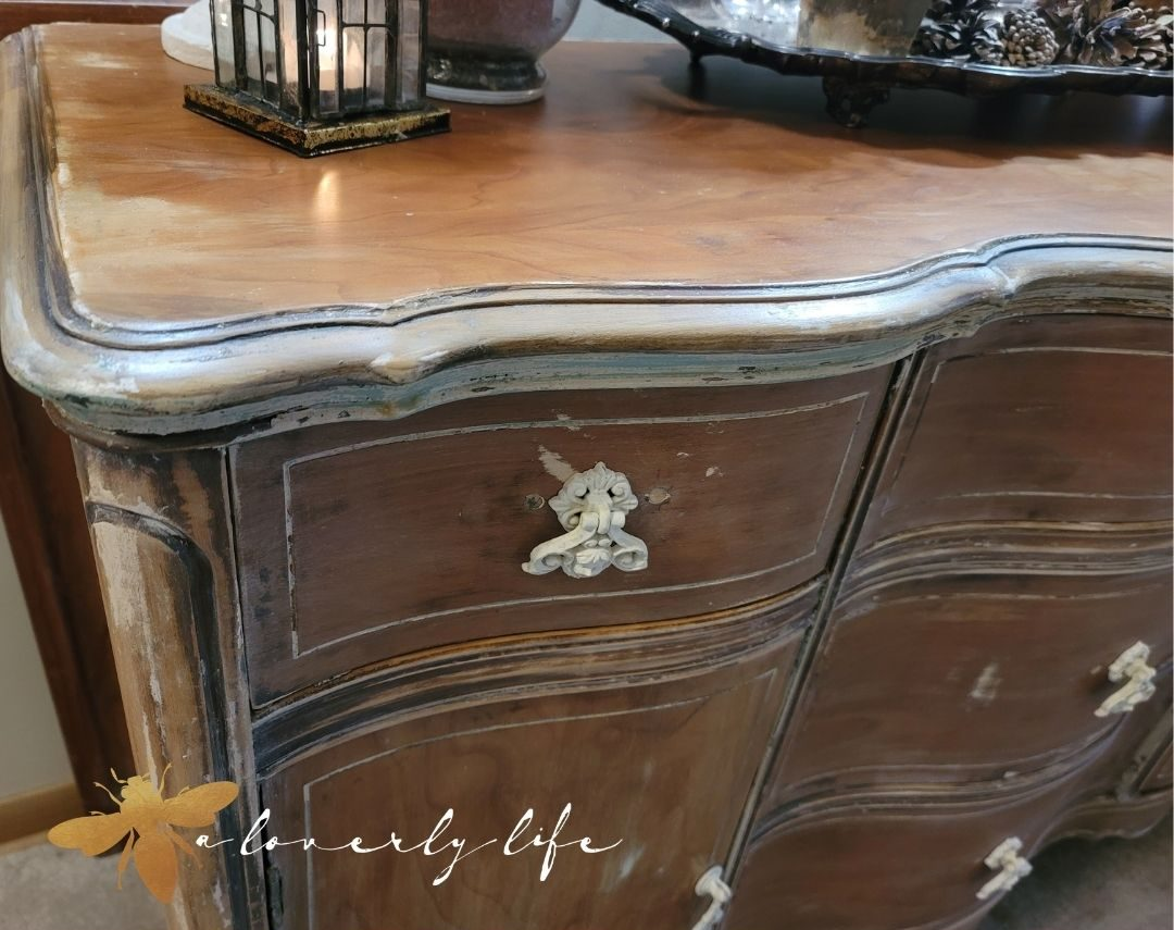 cherub pulls cottage sideboard