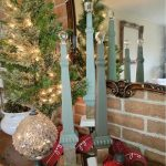 How to repurpose a vintage chair into Christmas decor