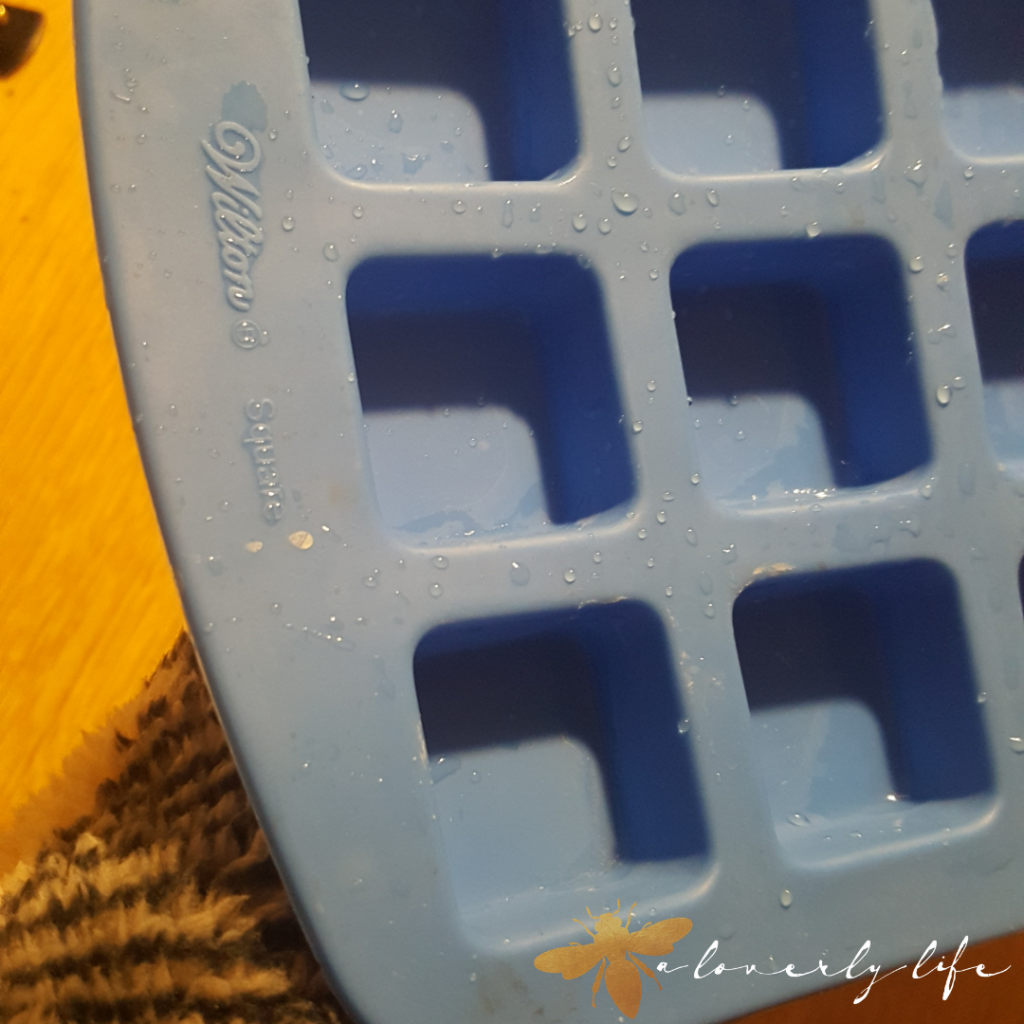ice tray mold for chocolate chai tea cakes