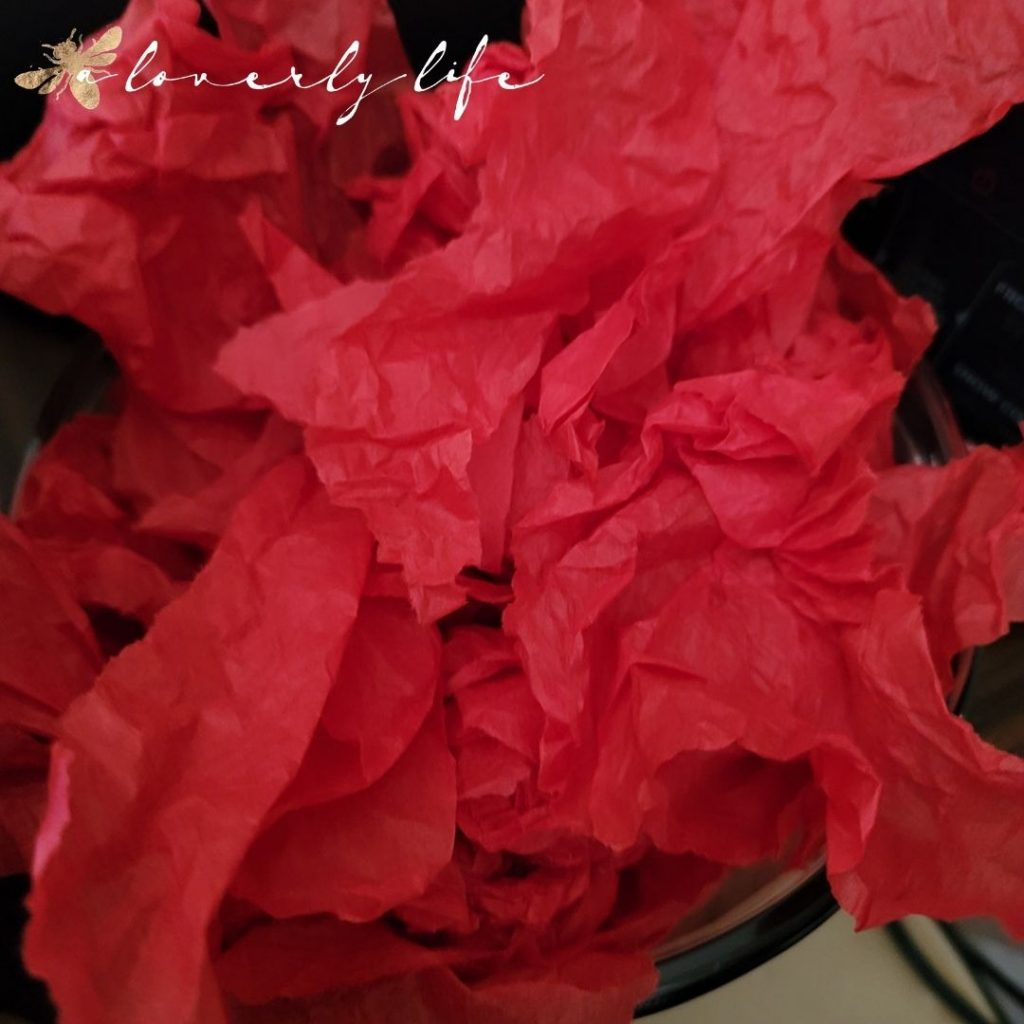 ripped craft paper | a loverly life
