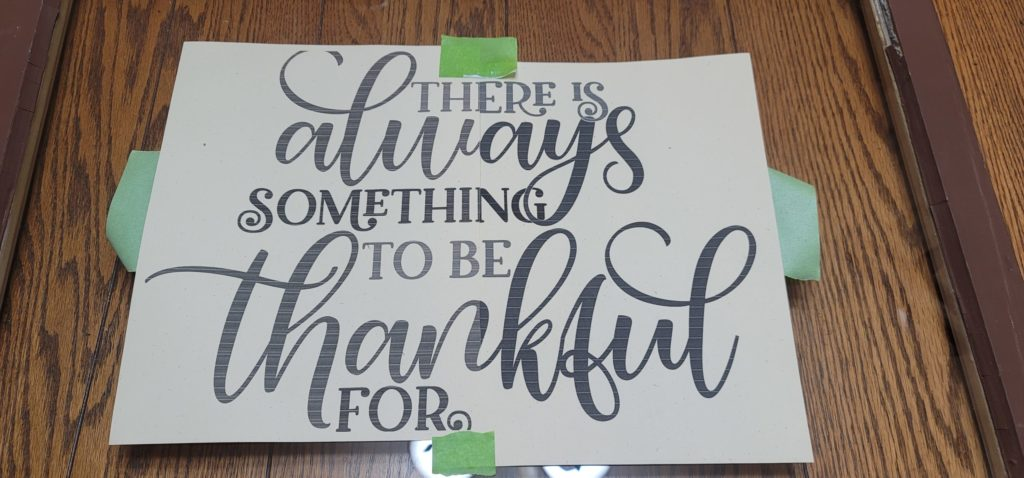 template sign for easy DIY sign using ColorShot paint pen