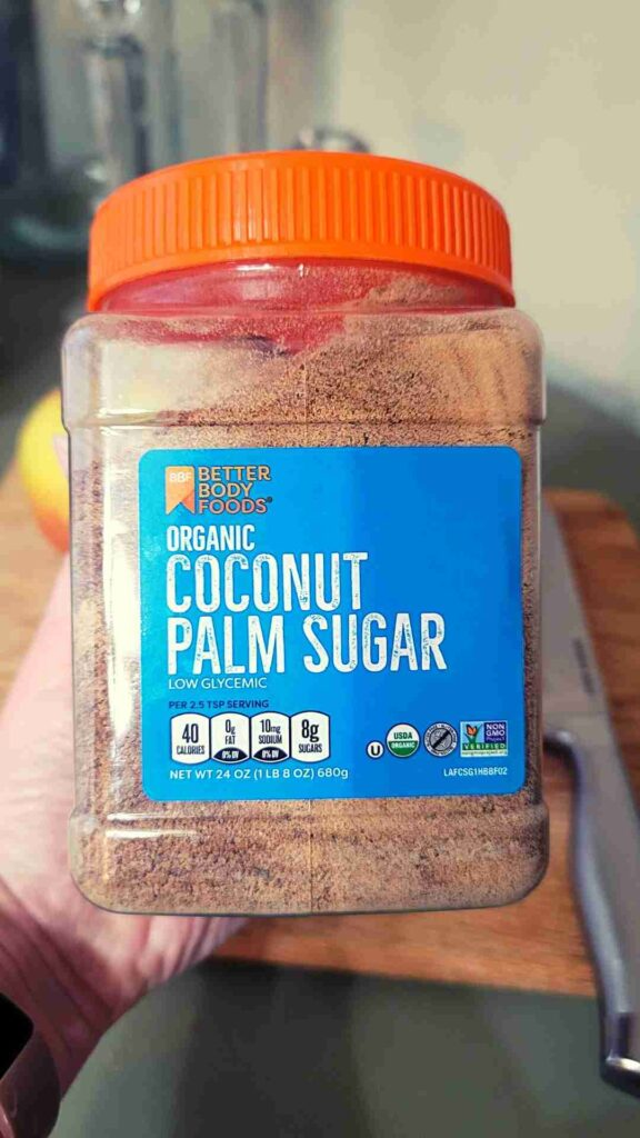 coconut palm sugar | apple butter recipe | A loverly life