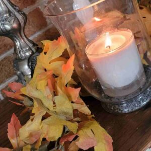 A Loverly Life -muted faux fall foliage
