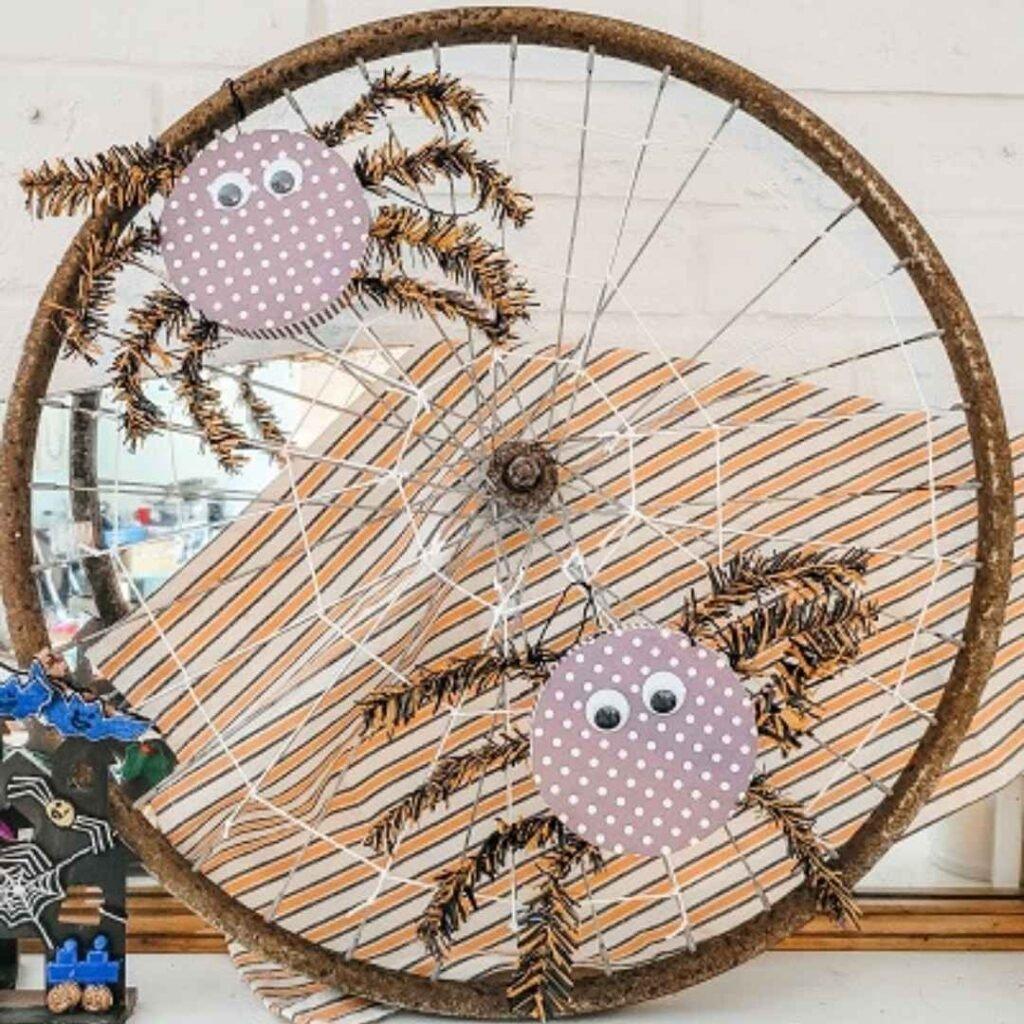 Fifth sparrow no more - spider wreath